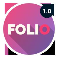 Folio Portfolio PSD Template