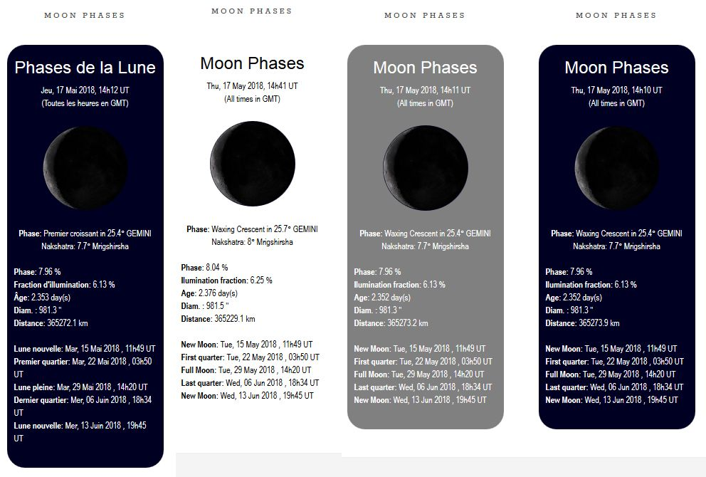Luna - Moon Phases Widget Plugin Screenshot 7