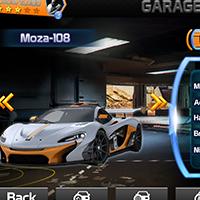 Racing Game Graphics CxS - GUI Skin 3