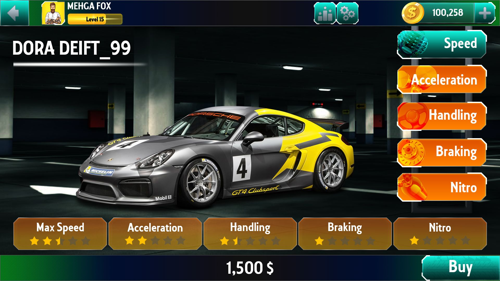 Racing Game Graphics CxS - GUI Skin 6 Screenshot 5