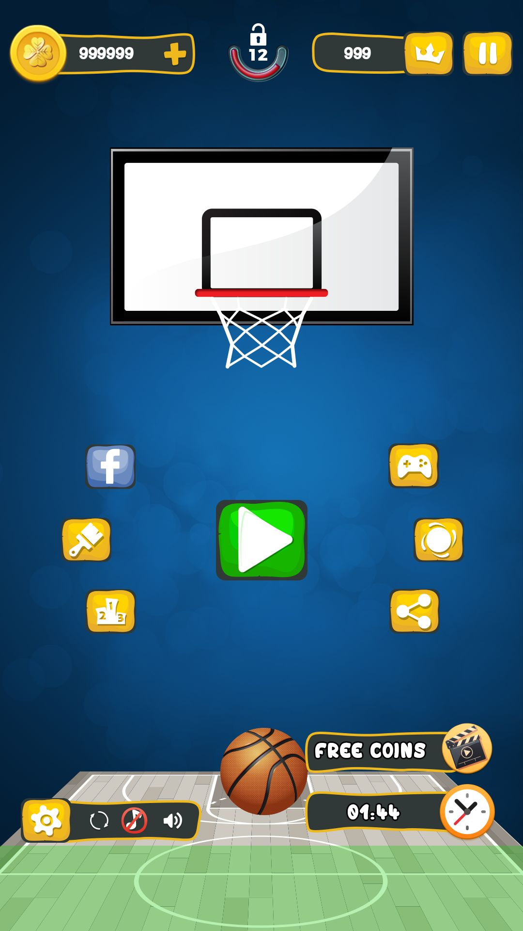Basket Ball Game Skin - Pack 2 Screenshot 2