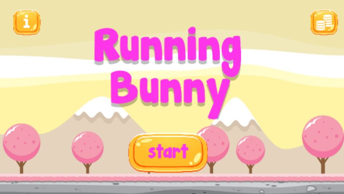 Running Bunny - Buildbox Game Template Screenshot 1