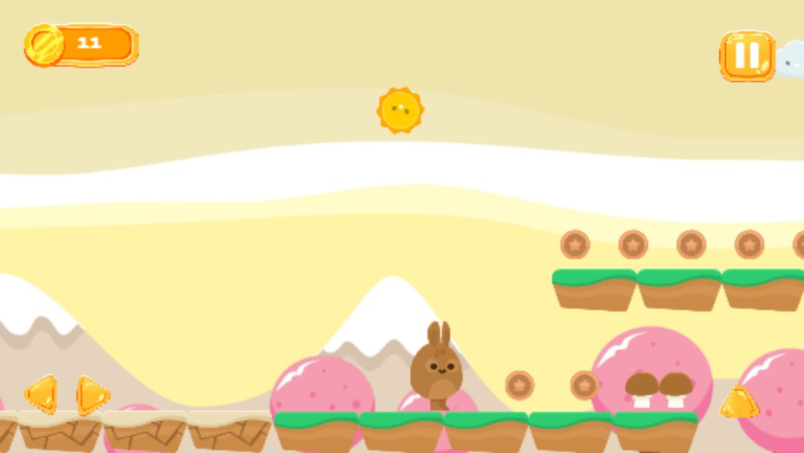 Running Bunny - Buildbox Game Template Screenshot 2