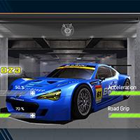 Racing Car Game UI Template Pack 5