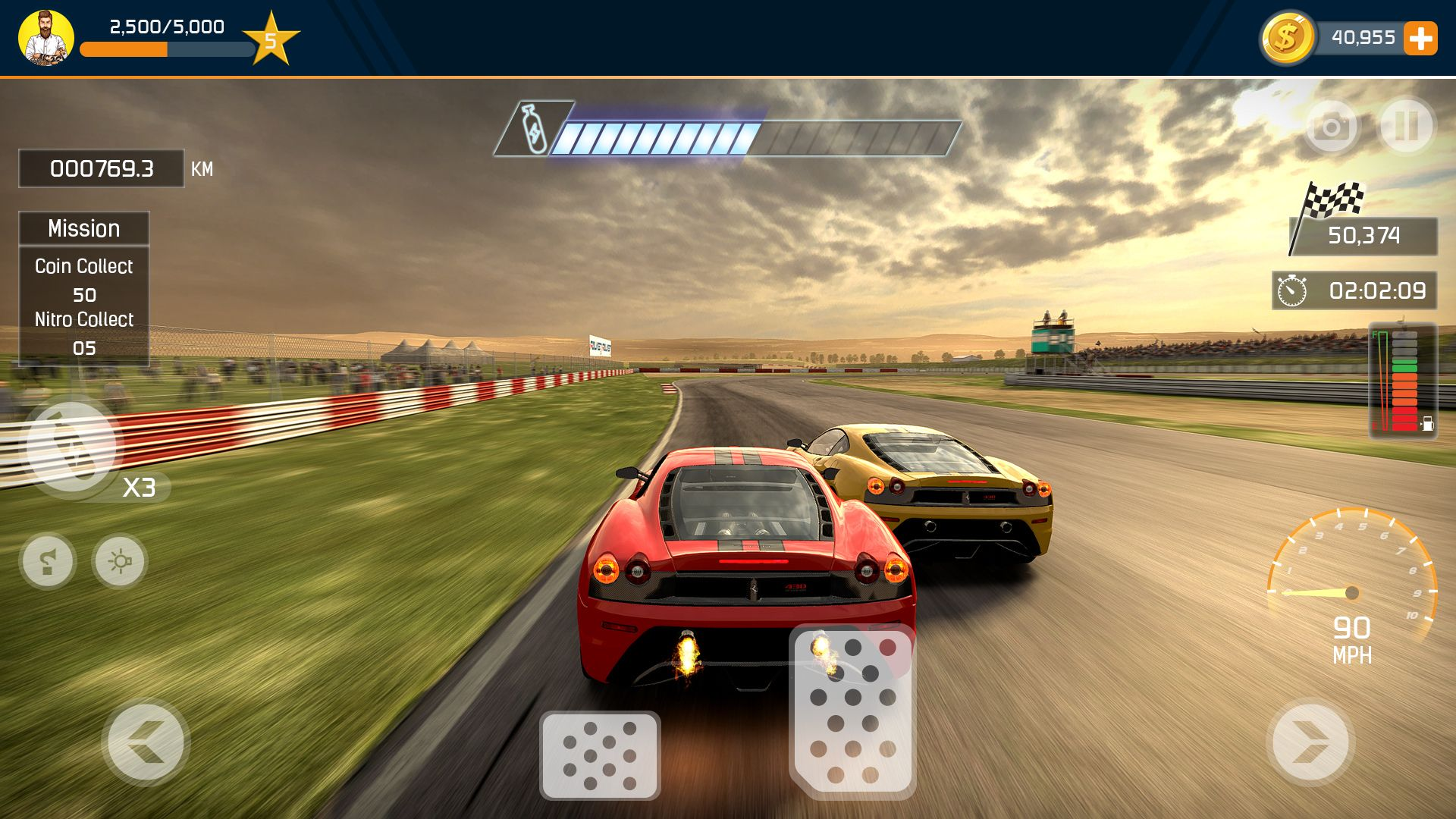 Racing Car Game Ui Template Pack 5 Codester