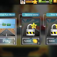 Racing Car Game UI Template Pack 9