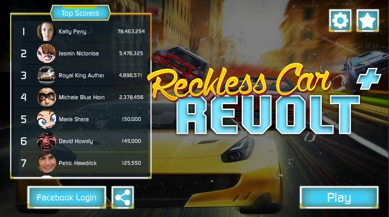 Reckless Traffic Racer - Complete Unity Project Screenshot 3