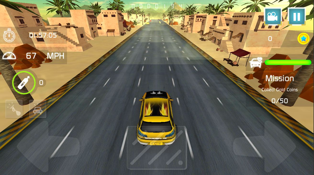 Reckless Traffic Racer - Complete Unity Project Screenshot 6