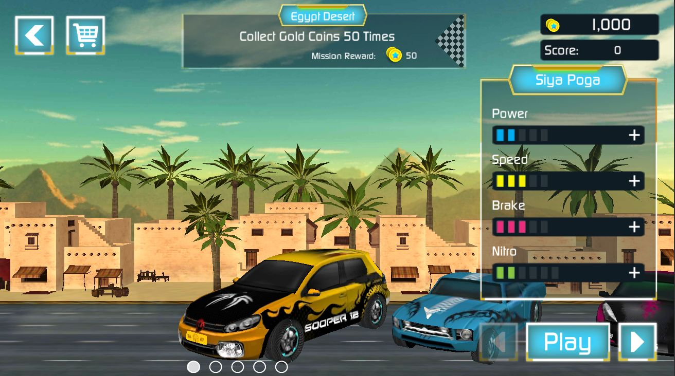 Reckless Traffic Racer - Complete Unity Project Screenshot 7