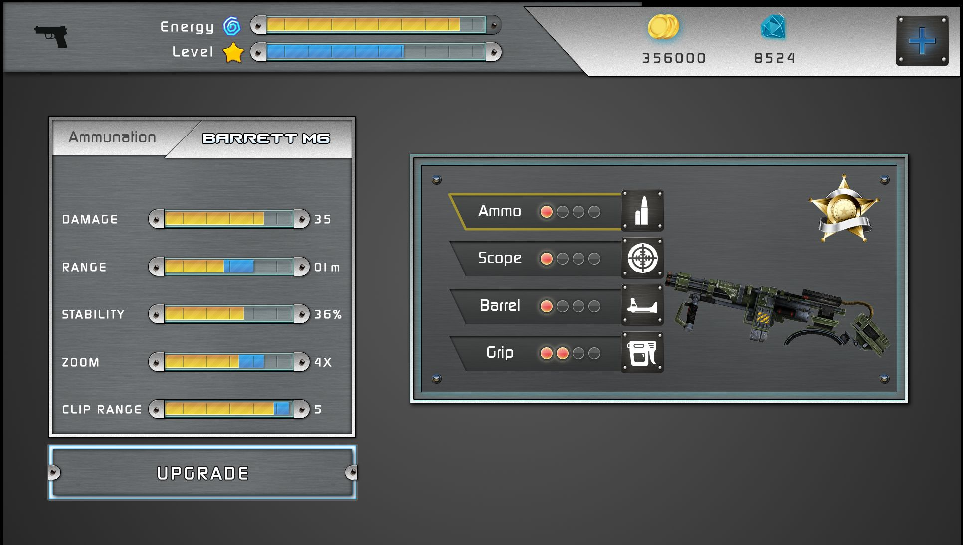 Action Shooting UI 2 Screenshot 15