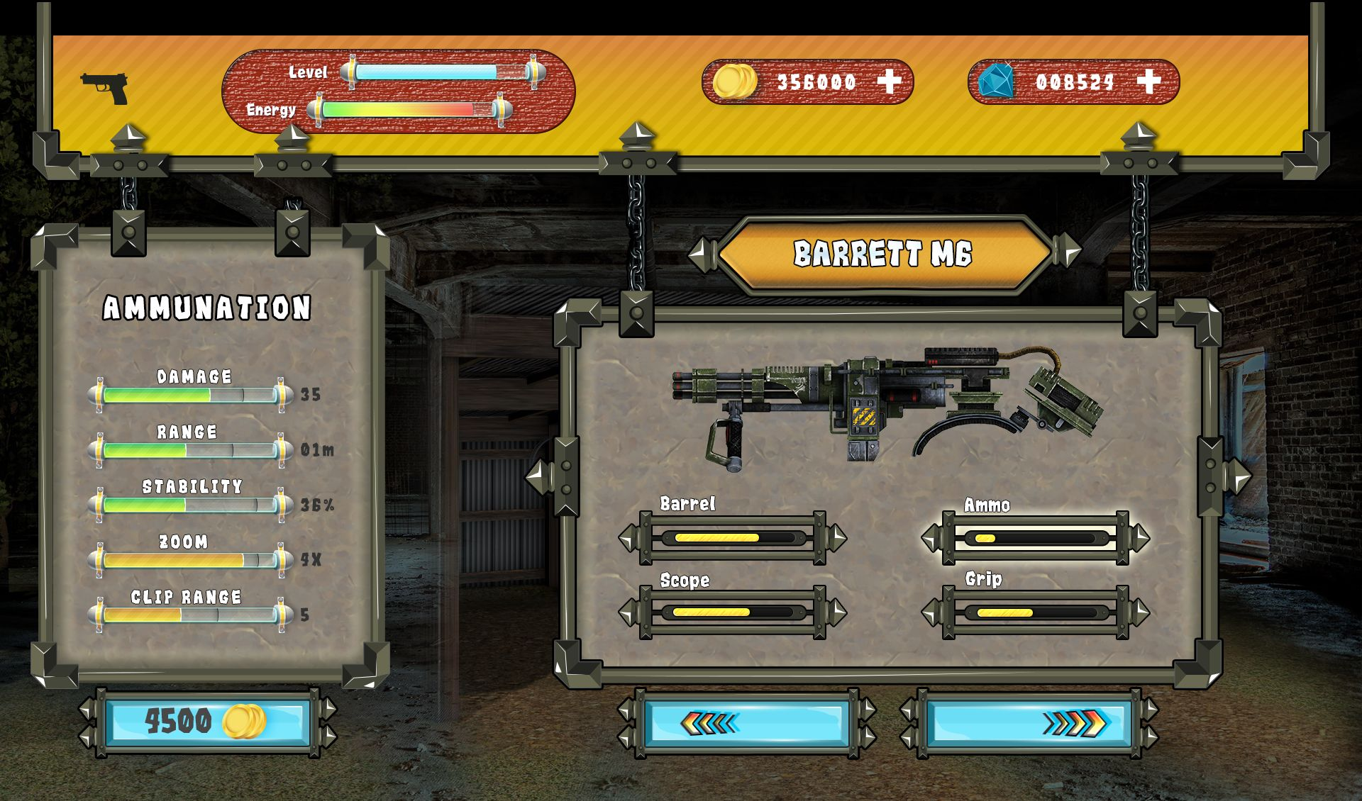 Action Shooting UI 6 Screenshot 17