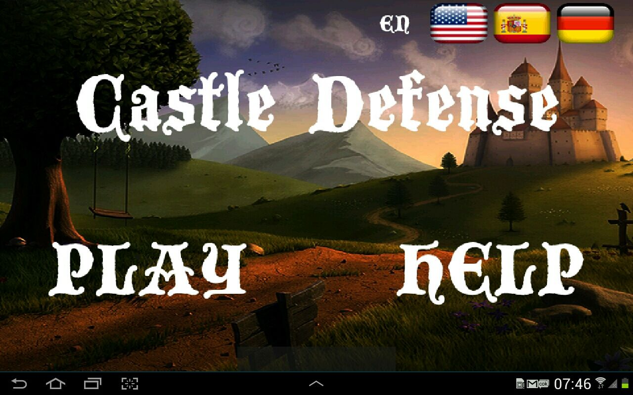 Castle Defense - Android Game Source Code Screenshot 1