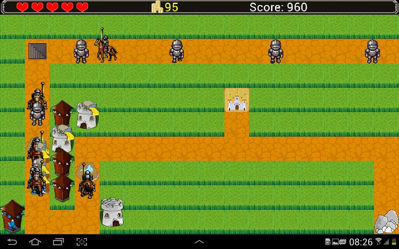 Castle Defense - Android Game Source Code Screenshot 3
