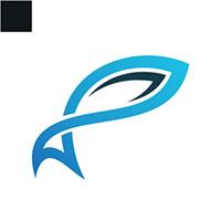 Fish Pattern Logo Template