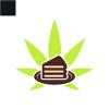 leaf-cake-logo-template