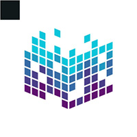 Pixel Cube Logo Template