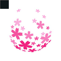 Sakura Splash Logo Template