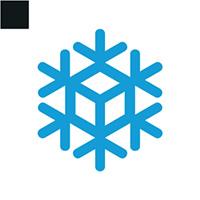 Snow Cube Logo Template