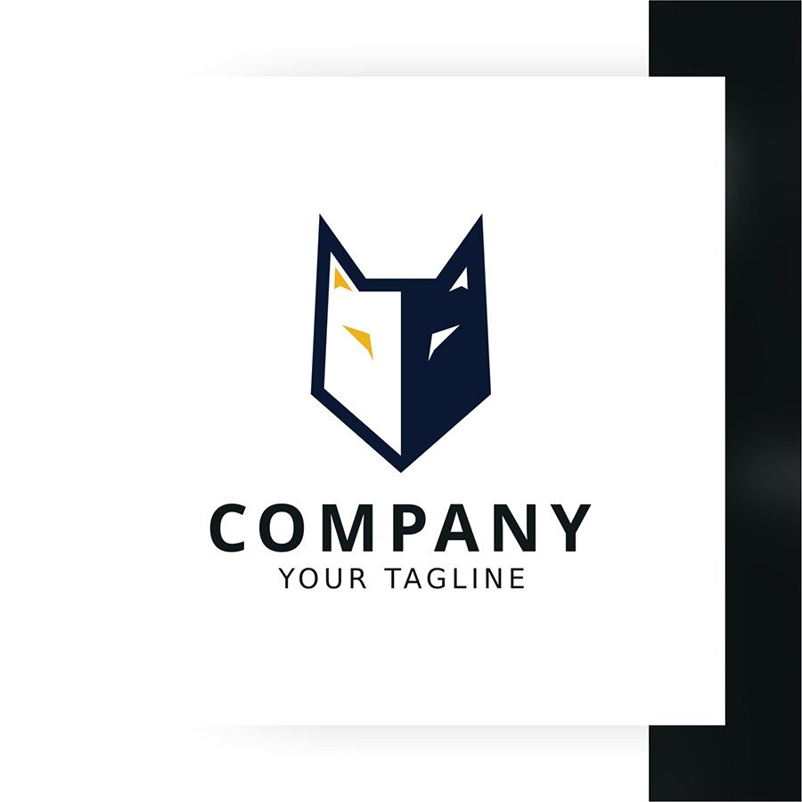 Strong Wolf Logo Template Screenshot 1