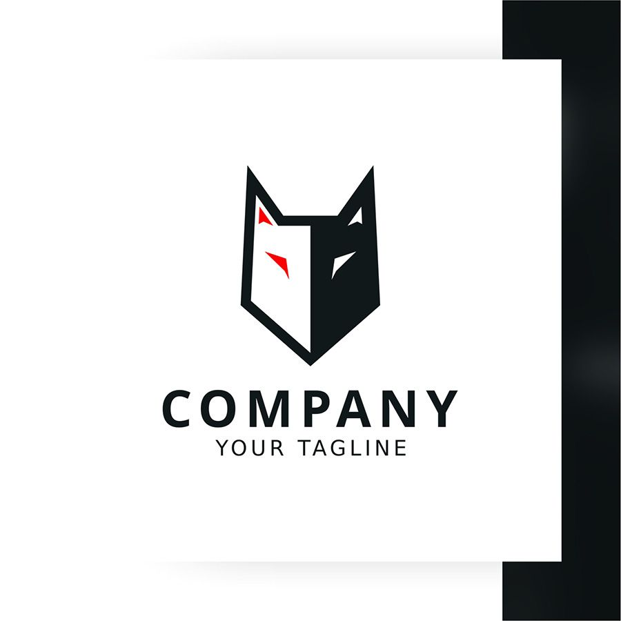 Strong Wolf Logo Template Screenshot 2