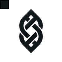 Woven Line Logo Template