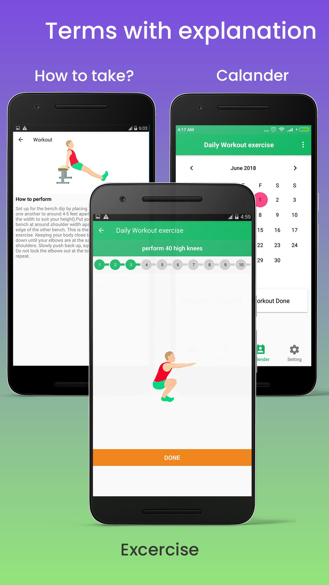 Daily Fitness Workout - Android Source Code