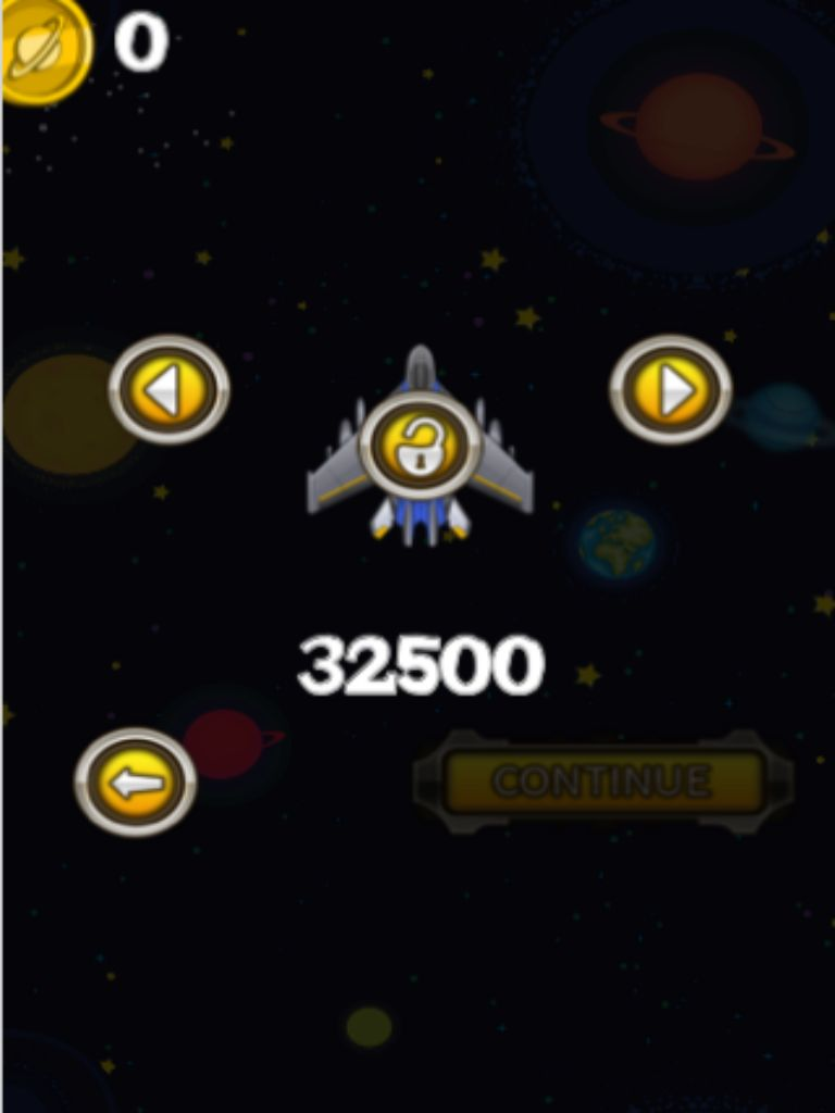 Space Shooters - iOS App Game Source Code  Screenshot 1