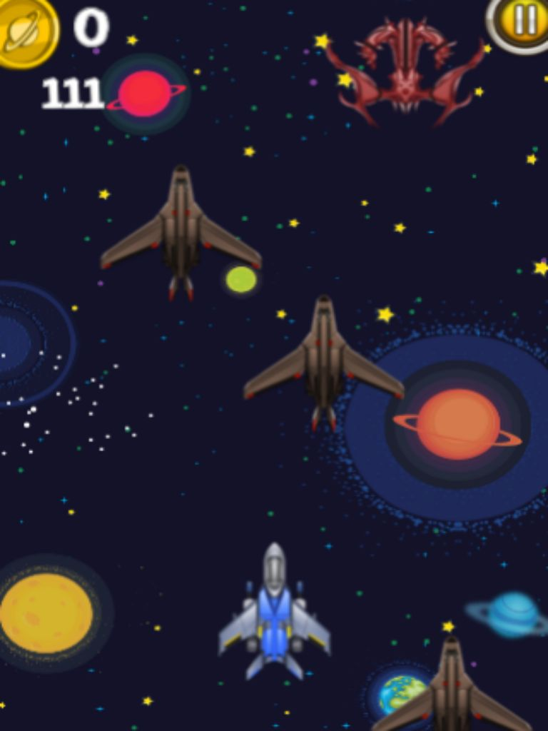 Space Shooters - iOS App Game Source Code  Screenshot 3