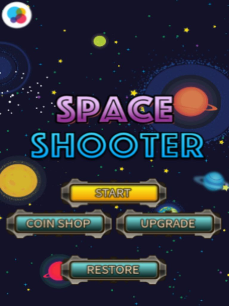 Space Shooters - Android Game Source Code Screenshot 4