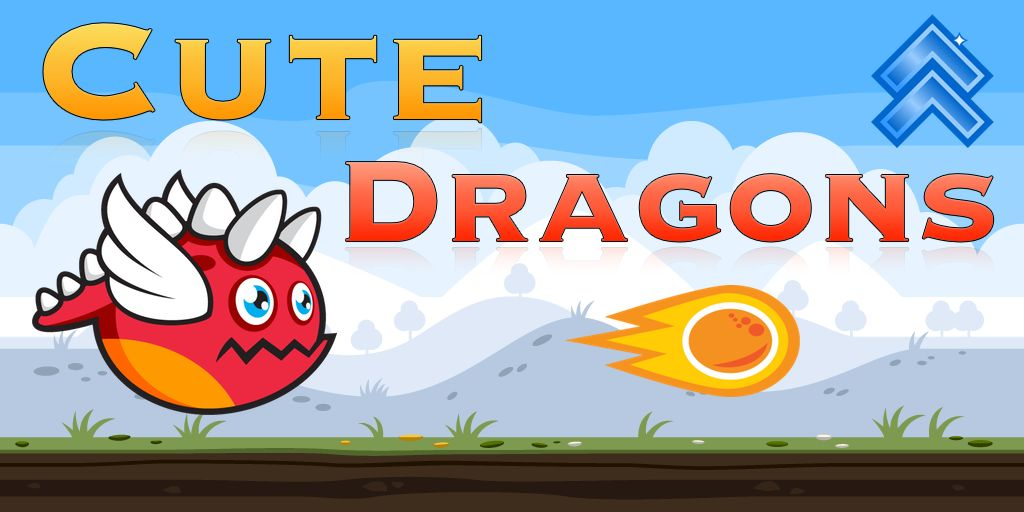 Cute Dragons -  Android Game Source Code Screenshot 3