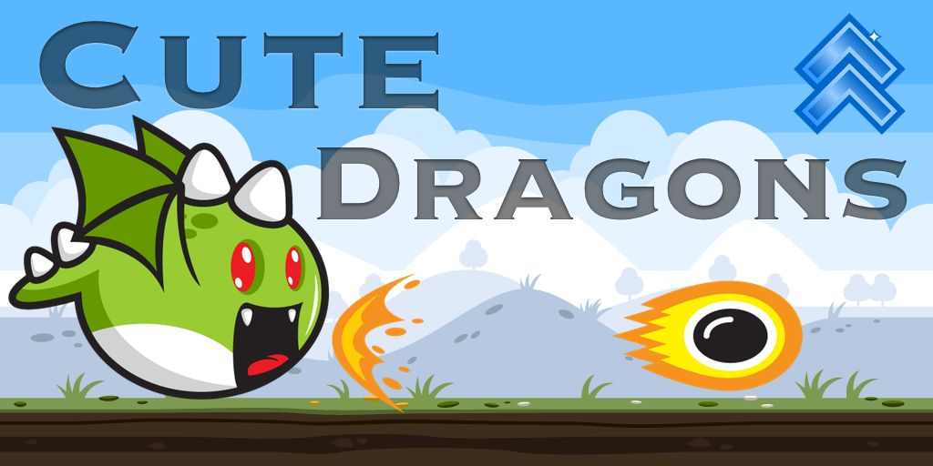 Cute Dragons -  Android Game Source Code Screenshot 4