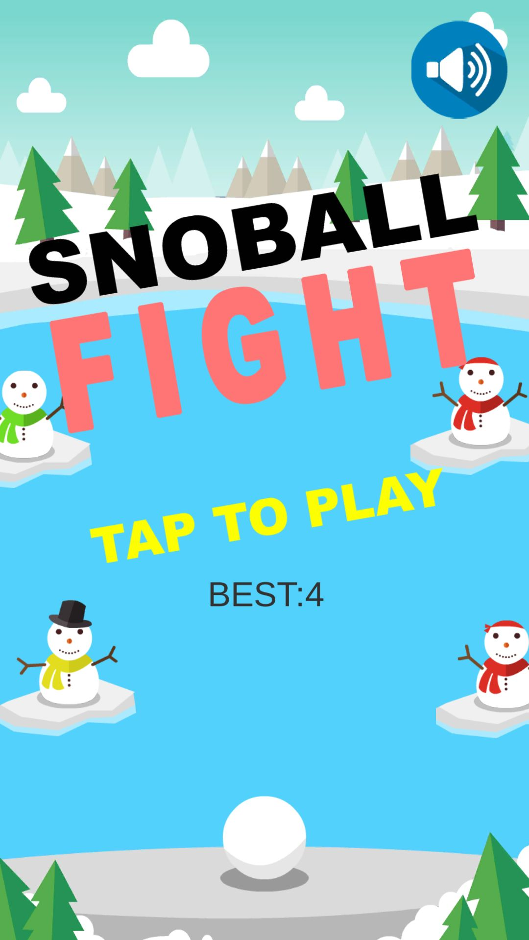 Snow Ball Unity Complete Project Screenshot 1