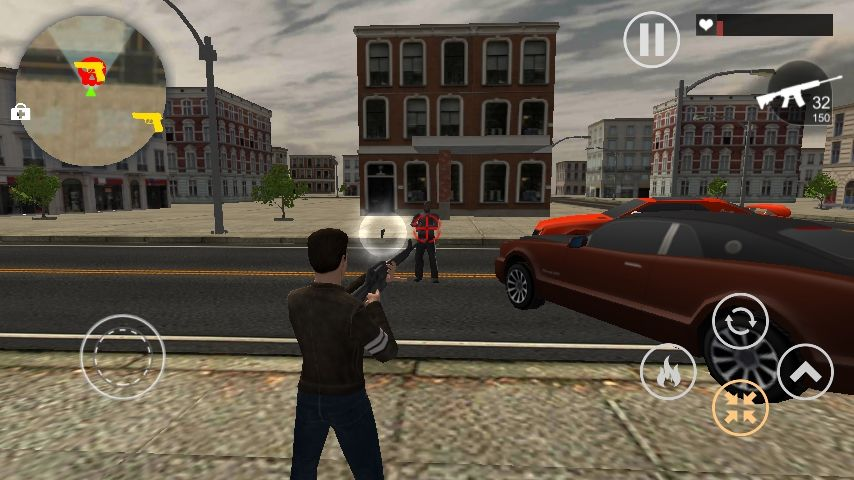 Crime Wars of San Andreas - Unity GTA Game Screenshot 2