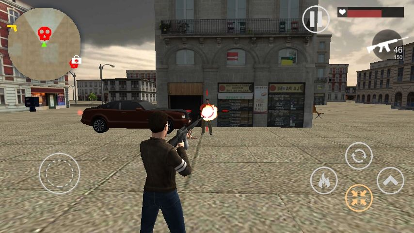 Crime Wars of San Andreas - Unity GTA Game Screenshot 4