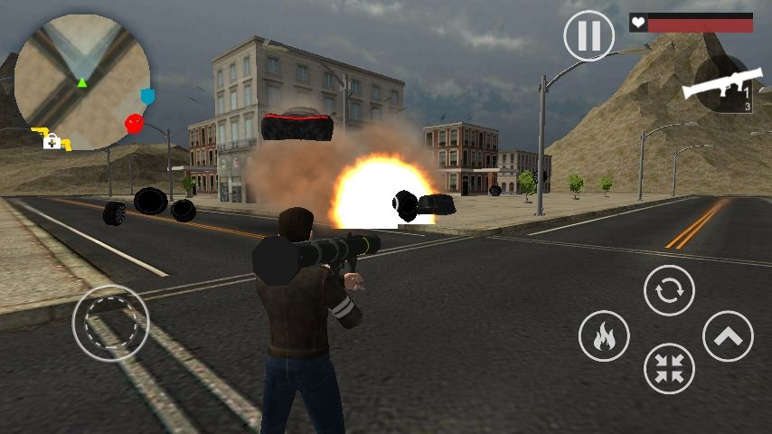 Crime Wars of San Andreas - Unity GTA Game Screenshot 7