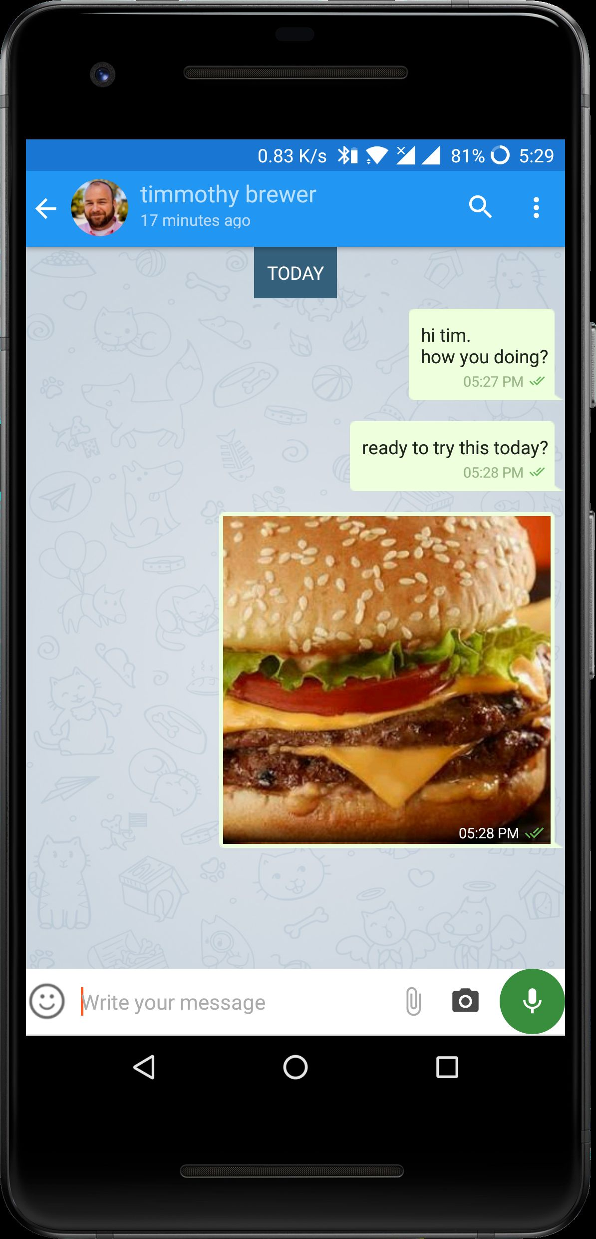 FireApp Chat - Firebase Android Source Code Screenshot 4