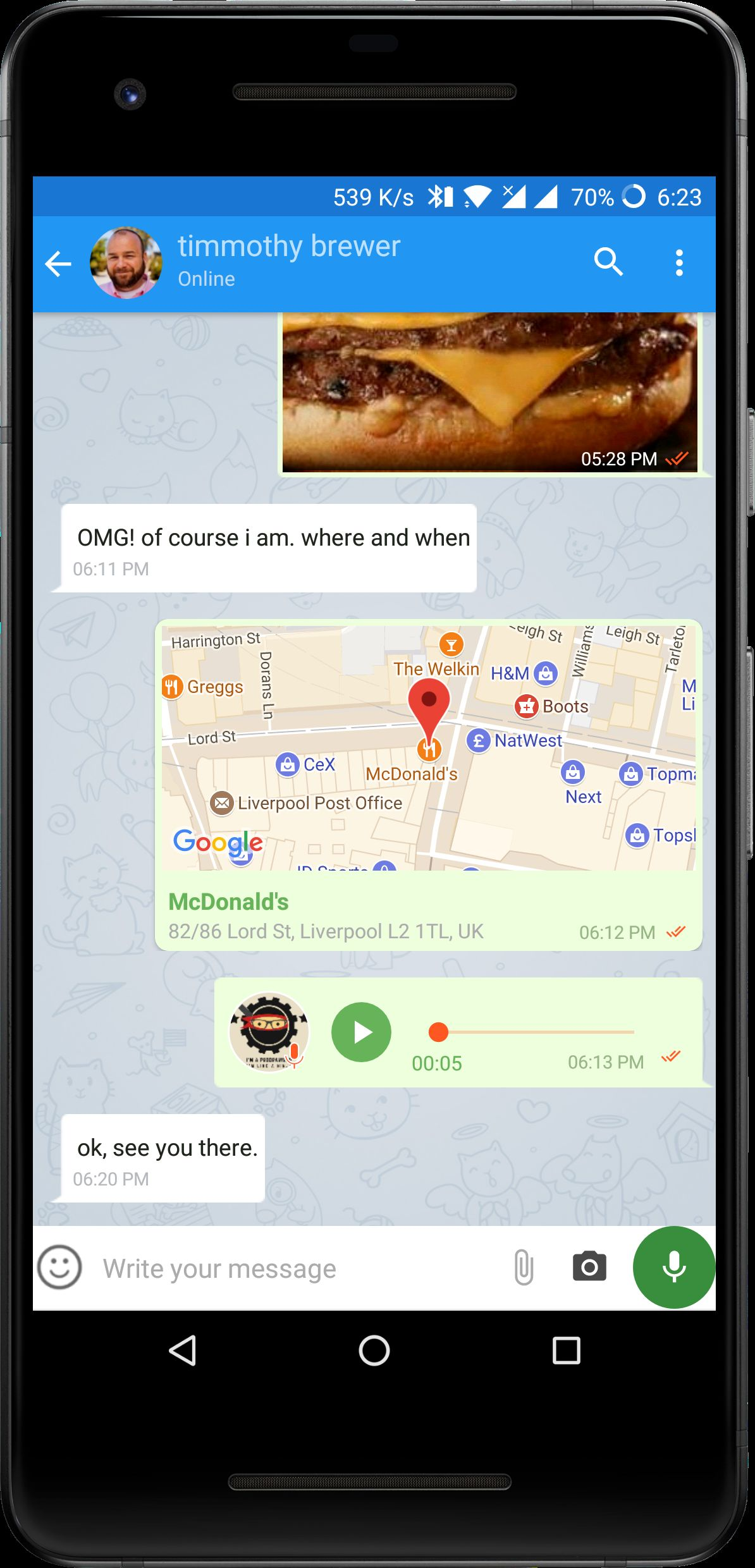 FireApp Chat - Firebase Android Source Code Screenshot 5