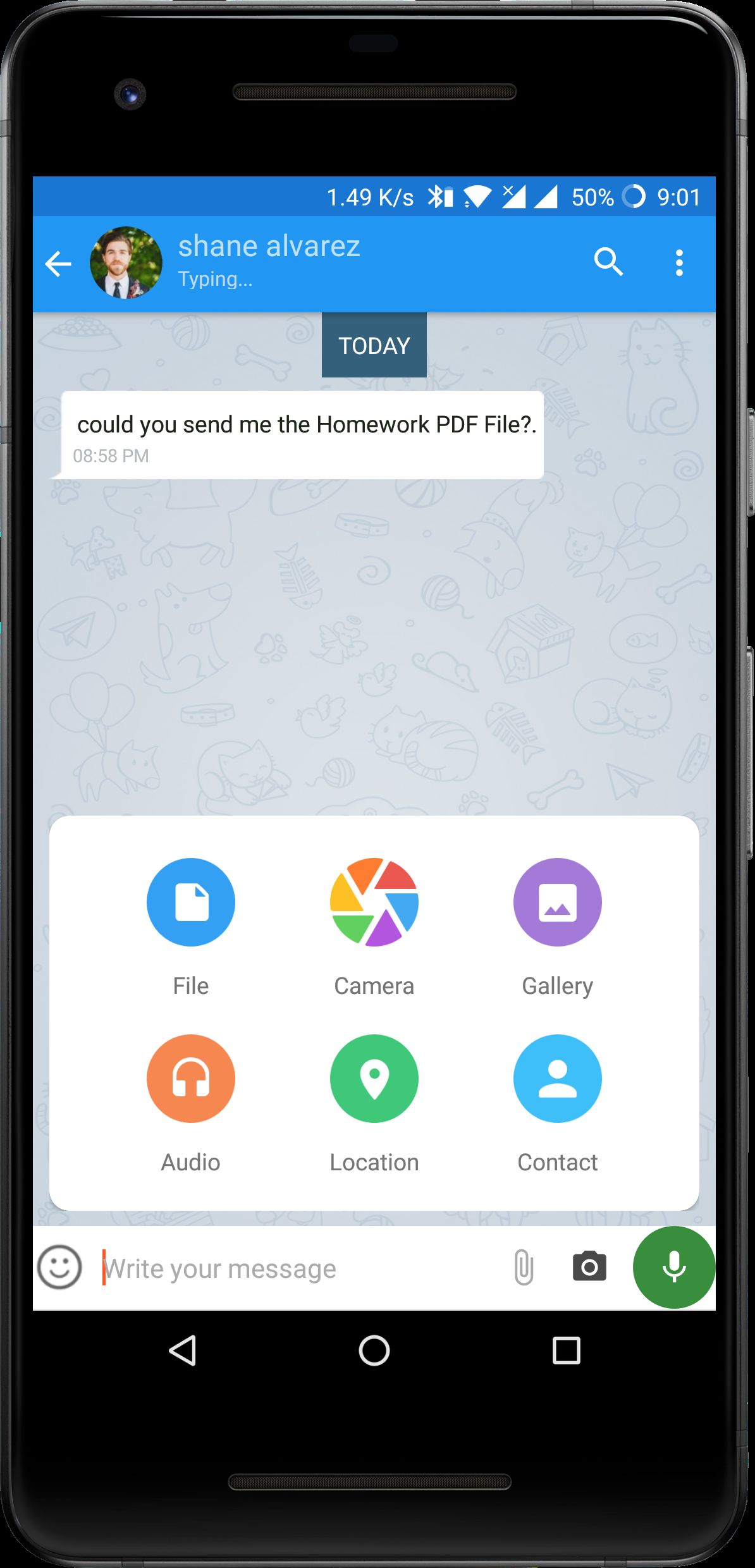 FireApp Chat - Firebase Android Source Code Screenshot 9