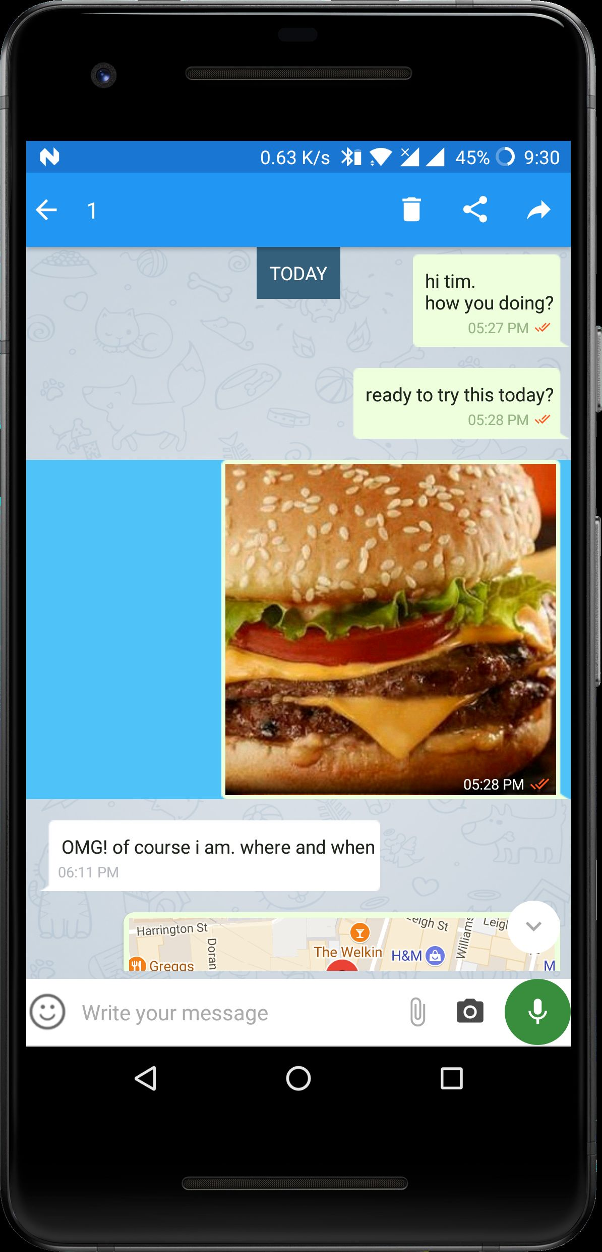 FireApp Chat - Firebase Android Source Code Screenshot 18