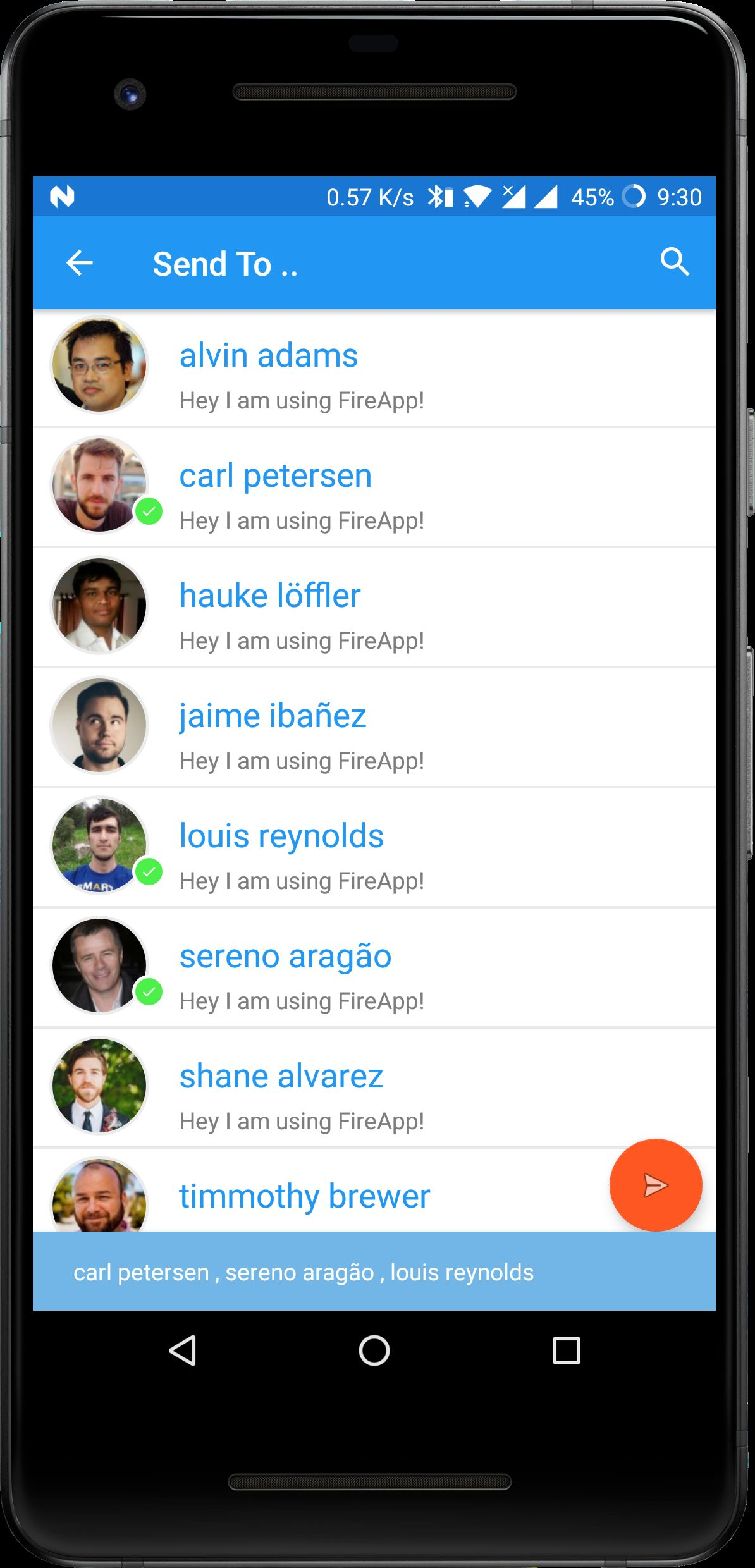 FireApp Chat - Firebase Android Source Code Screenshot 19