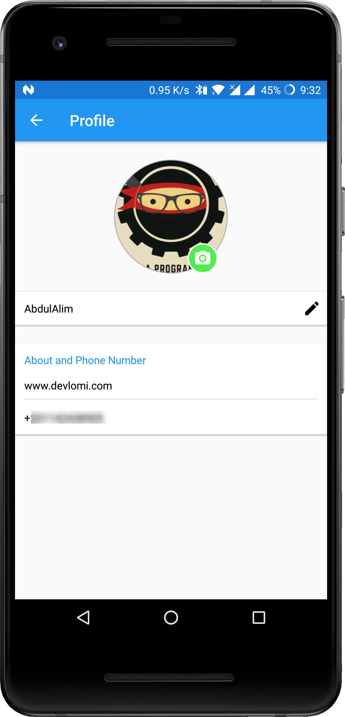 FireApp Chat - Firebase Android Source Code Screenshot 20