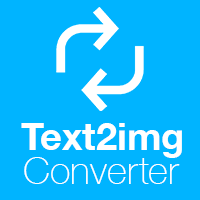 Text2img - Text to Image Converter