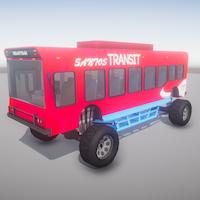 Monster Bus 3D Model