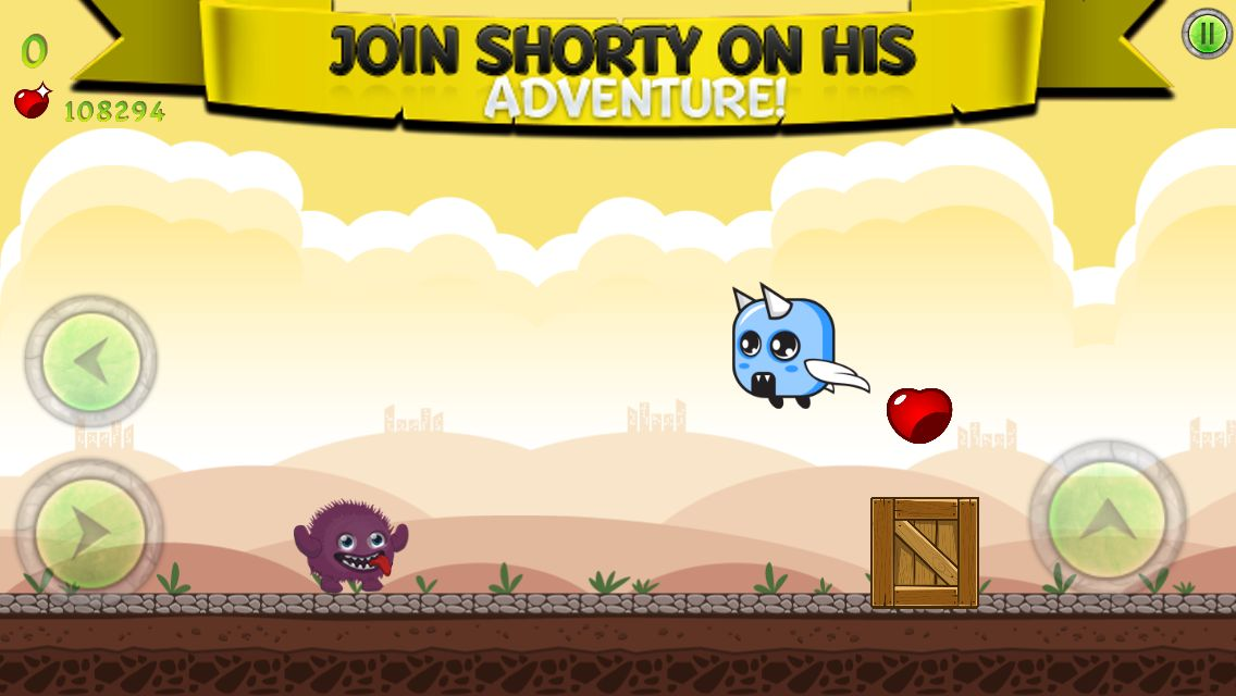 Shortyy Adventure - Full iOS Game Source Code Screenshot 2