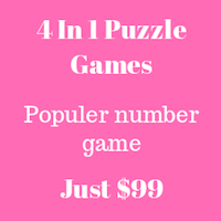 4 in 1 Puzzle Games iOS Xcode Projects
