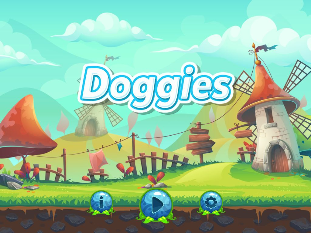 Doggies Buildbox Template  Screenshot 1