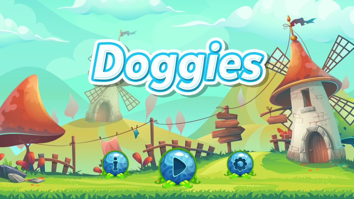 Doggies Buildbox Template  Screenshot 2