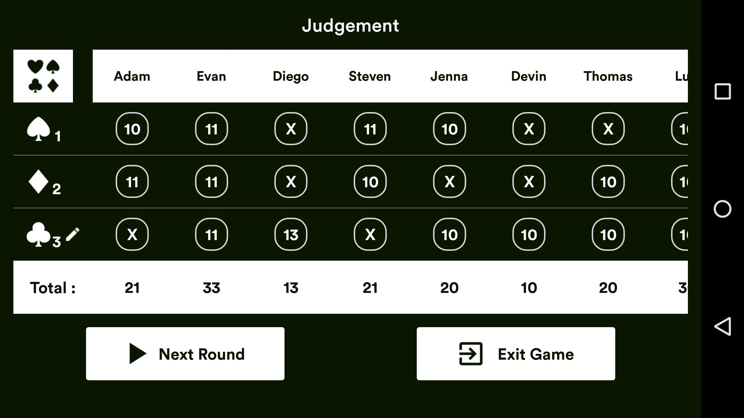 Judgement Android Source Code Screenshot 7
