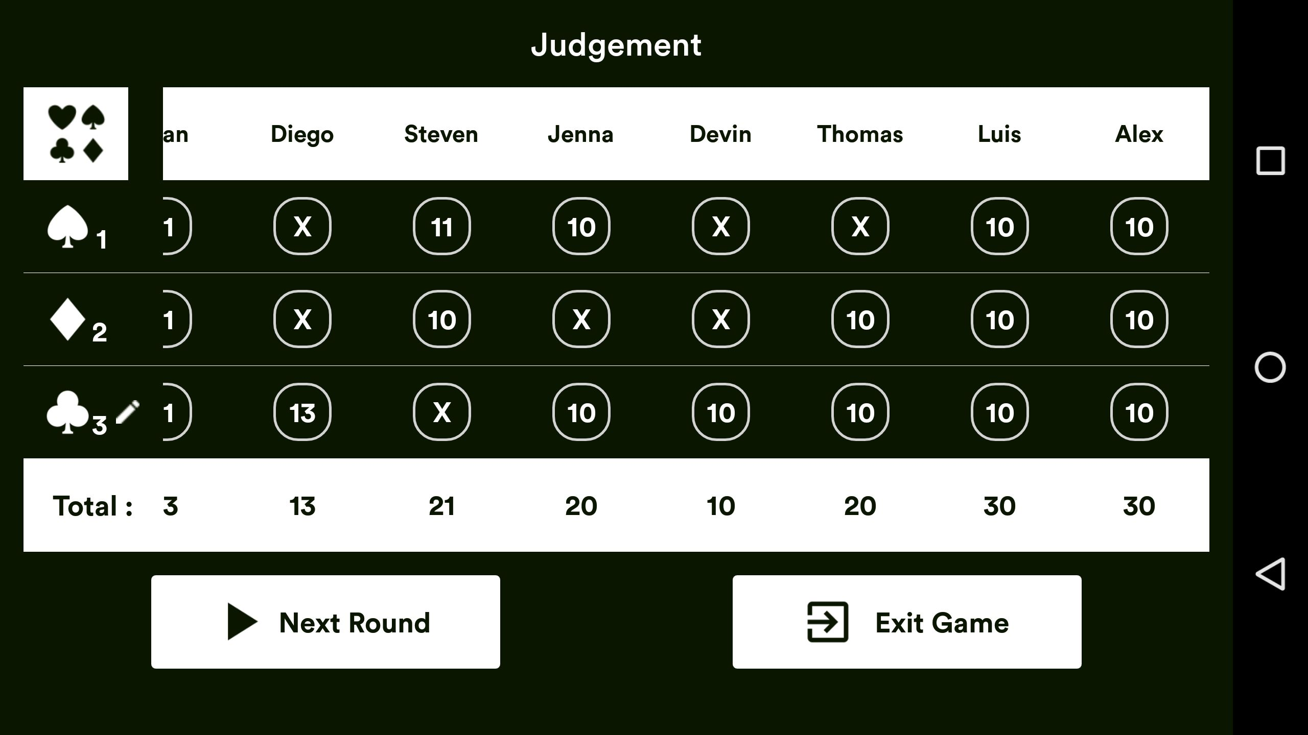 Judgement Android Source Code Screenshot 8