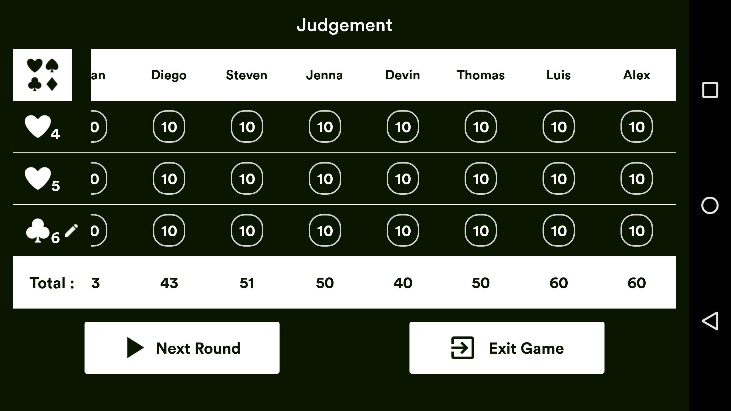 Judgement Android Source Code Screenshot 9